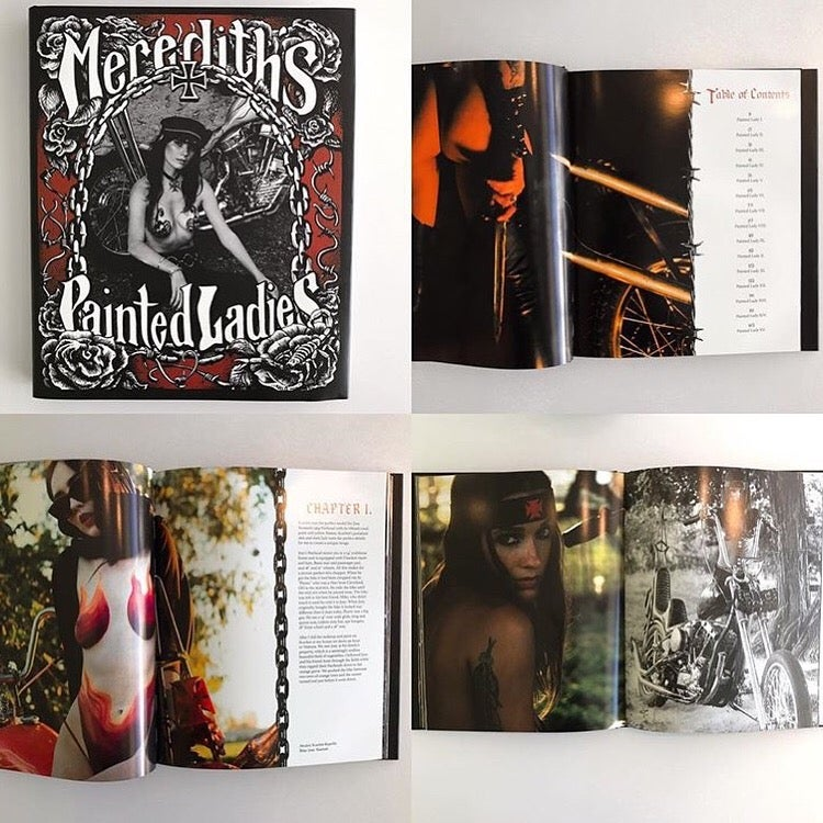 Image of MEREDITH'S PAINTED LADIES BOOK-custom signed copy
