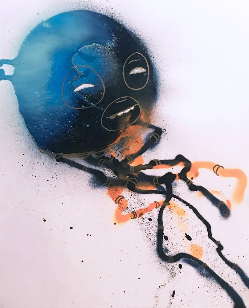 Image of Jellyfish Painting- 01