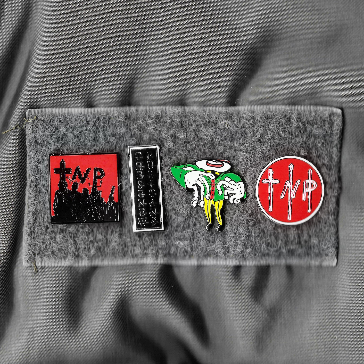 Image of SET OF TNP PIN BADGES