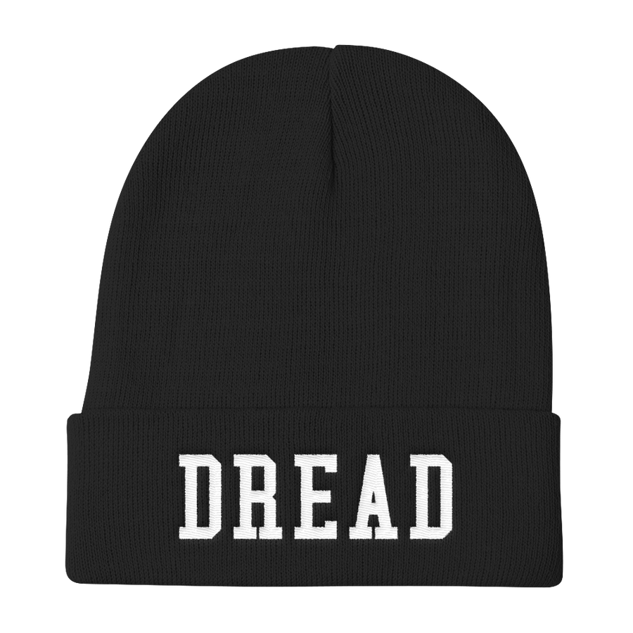 "Image of Black ""Dread"" Skull Cap"