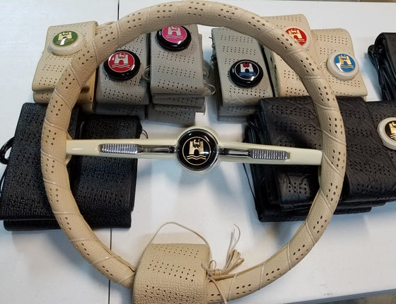 Image of NEW! STEERING WHEEL COVERS