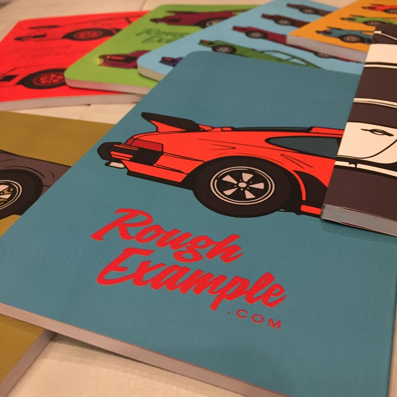 Image of Porsche 930 wraparound notebook