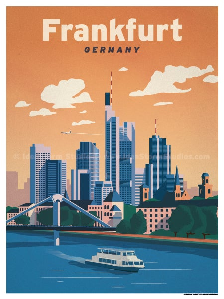 Image of Frankfurt Poster