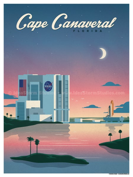 Image of Cape Canaveral Poster