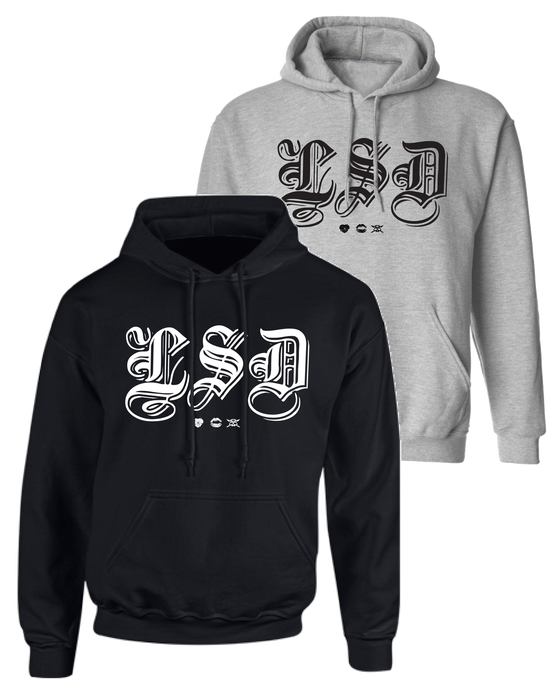 "Image of LSD ""Old E"" Pullover Hoodie"