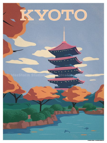 Image of Kyoto Poster