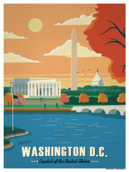 Image of Washington D.C. Poster