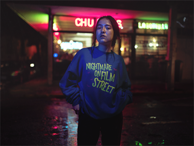 Image of Nightmare on Film Street Sweatshirt (Unisex)