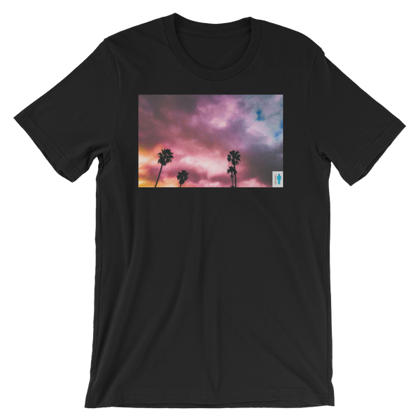 "Image of ""Palms and Perp"" Limited T-Shirt. (Black)"