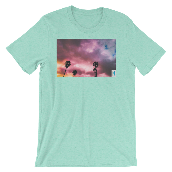 "Image of ""Palms and Perp"" Limited T-Shirt. (Mint)"