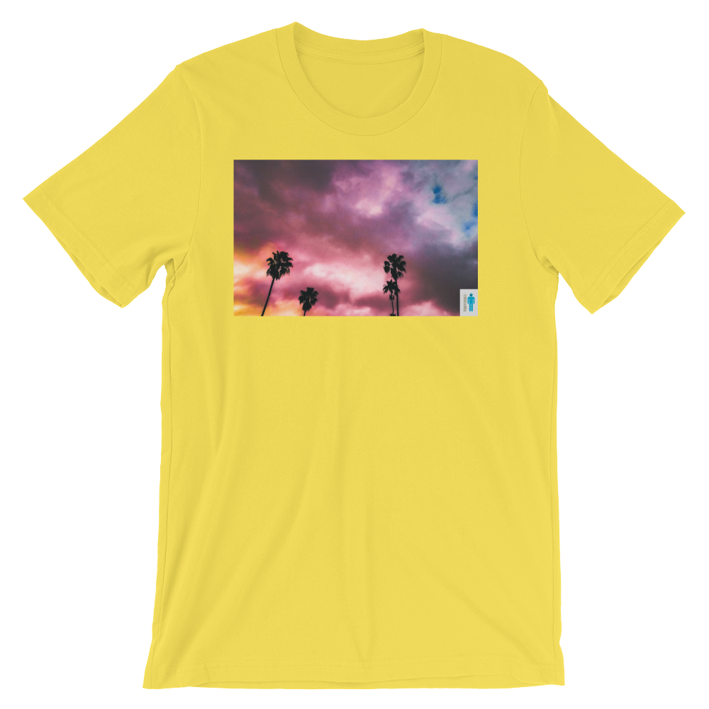 "Image of ""Palms and Perp"" Limited T-Shirt. (Yellow)"