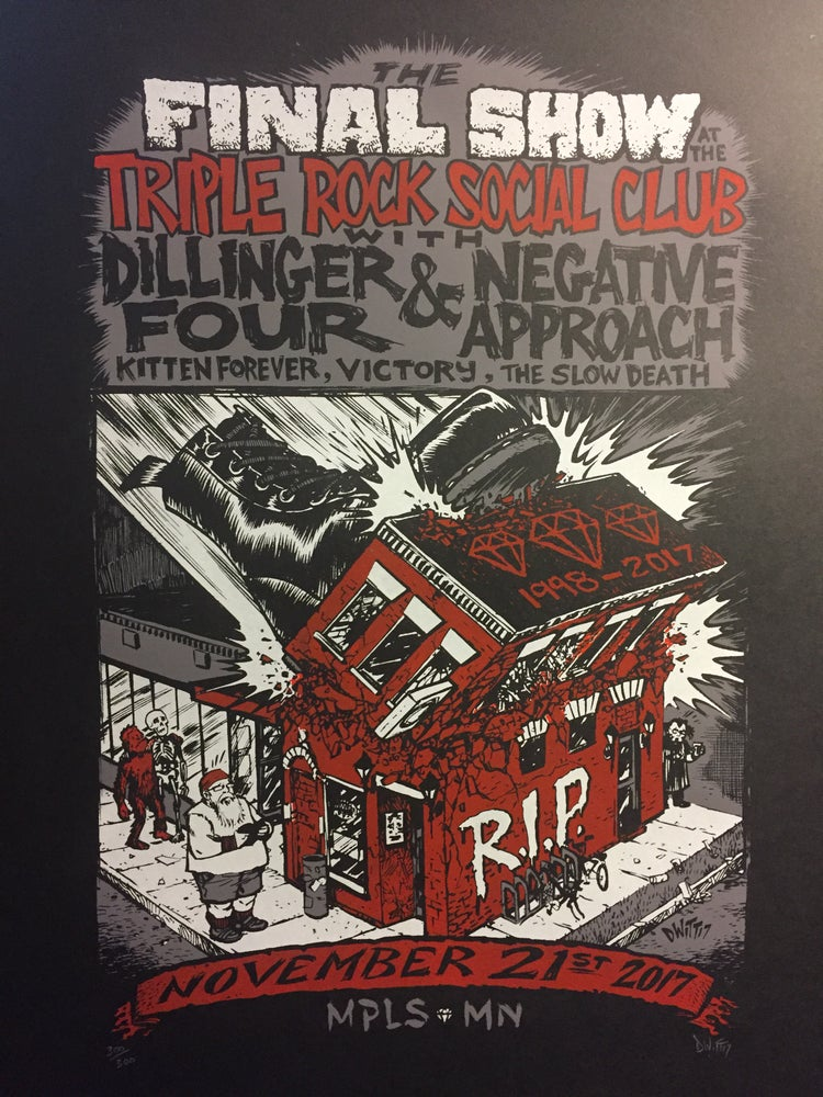 Image of The Final Triple Rock Poster