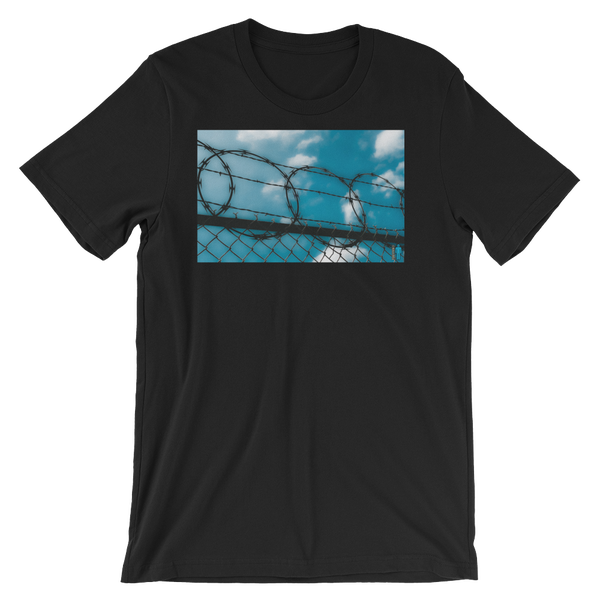 "Image of ""Cage In"" Limited Edition T-Shirt. (Black)"