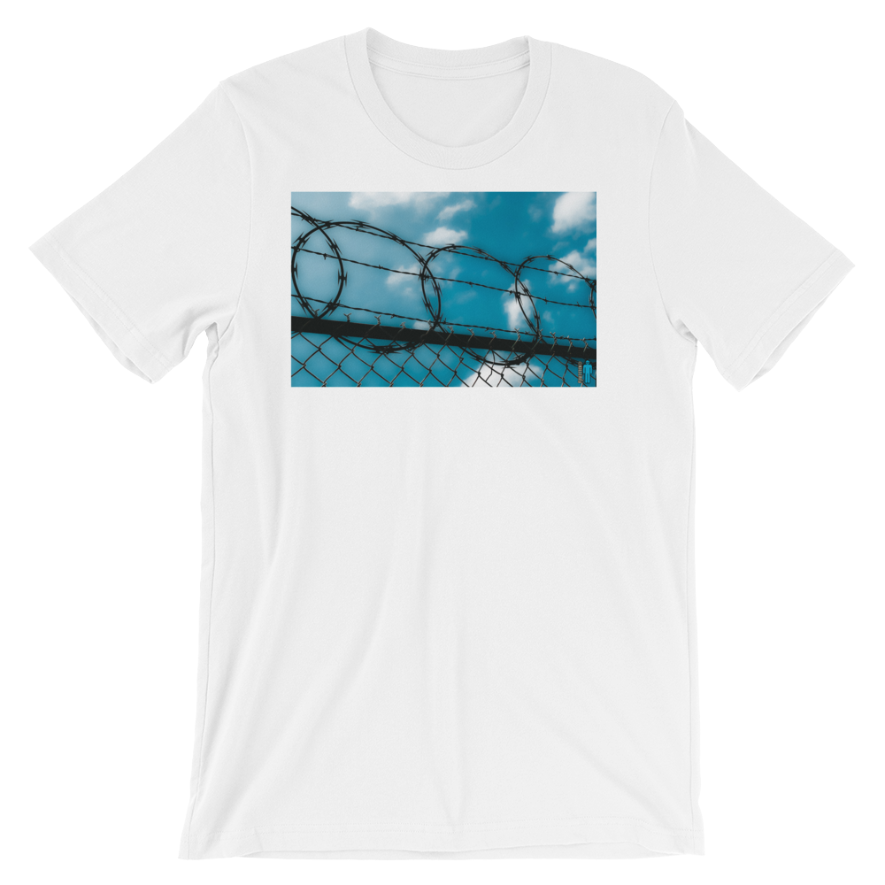 "Image of ""Cage In"" Limited Edition T-Shirt. (White)"