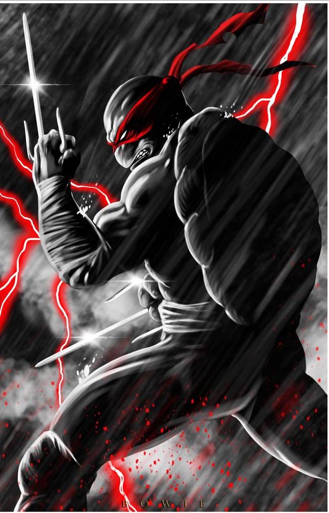 Image of TMNT- HARD RAIN