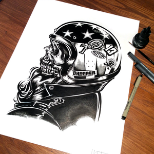 Image of CHOPPER - Ink on paper