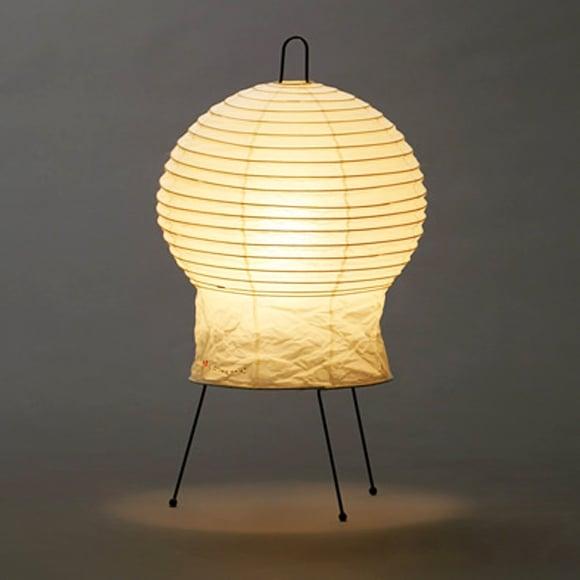 Image of Isamu Noguchi Light Sculpture AKARI 2N Standing lamp