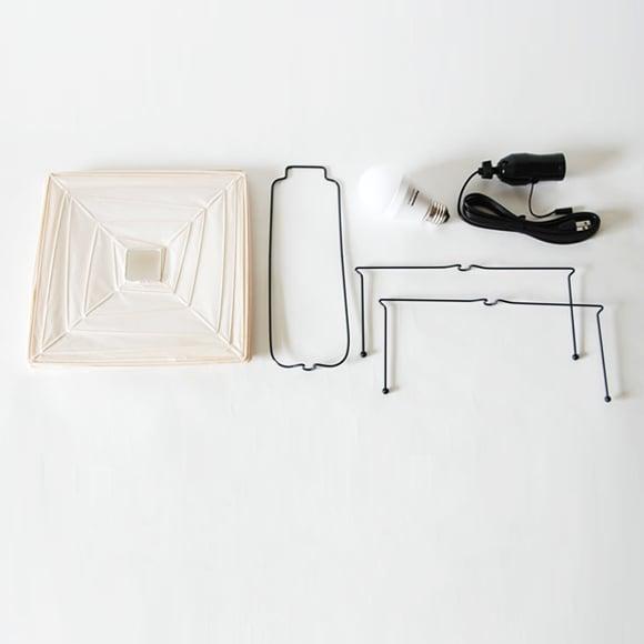 Image of Isamu Noguchi Light Sculpture AKARI 3X Standing lamp