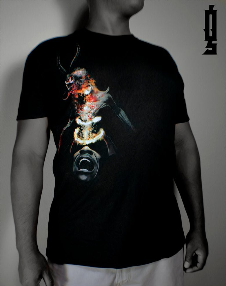"Image of ""Deceiver"" Poster Print and Tee Bundle"