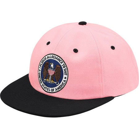Image of Supreme - Pledge Allegiance 6-Panel (Pink)