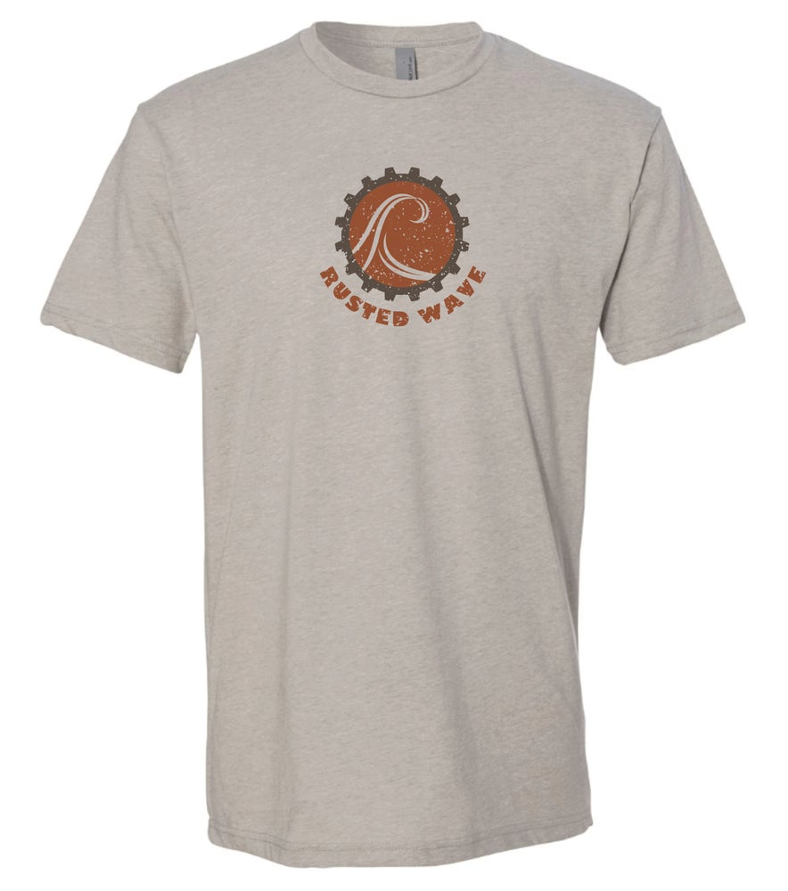 Image of Rusted Wave Logo Tee