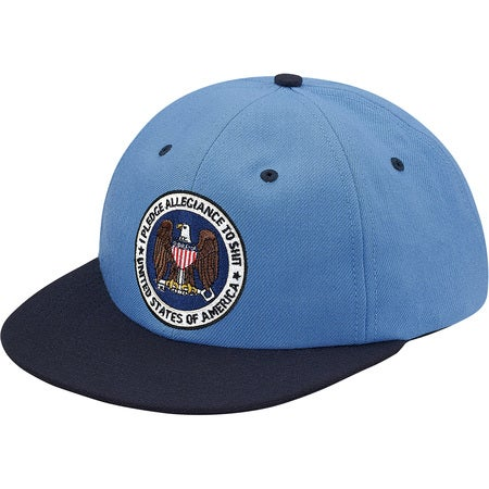 Image of Supreme - Pledge Allegiance 6-Panel (Light Blue)