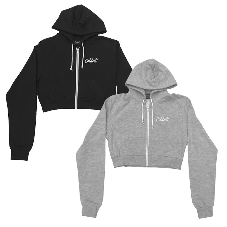 Image of CROPPED HOODIES