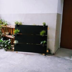 Unique 3-Section Chalkboard