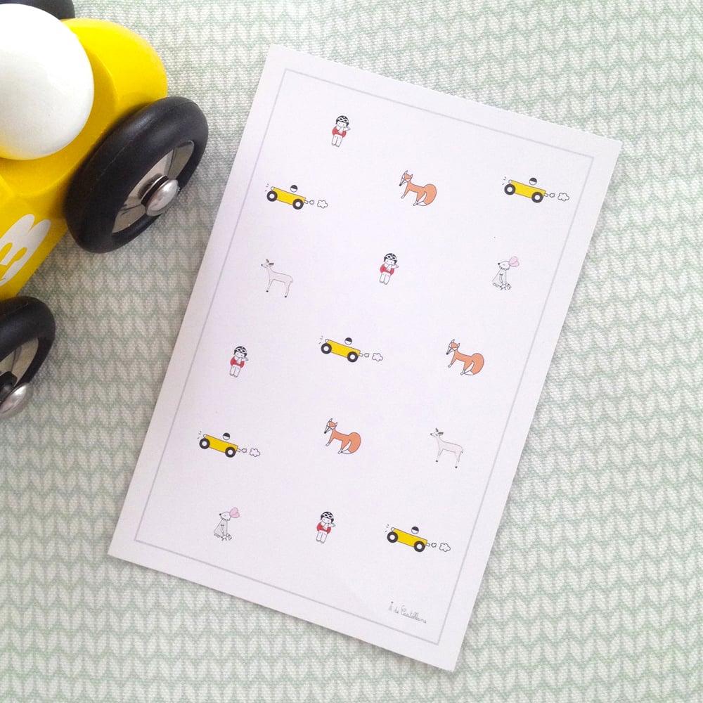 Image of Carte - Les Miniatures (A6)