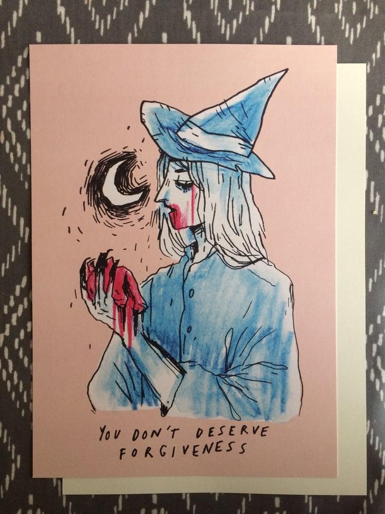 Image of FORGIVENESS A4 heavyweight art print