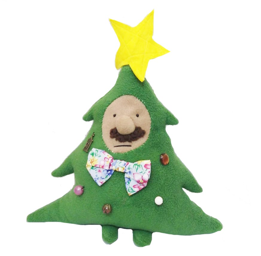 Image of christmas tree man