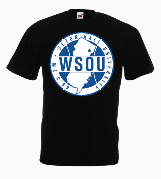 Image of WSOU Sports Tee- Black