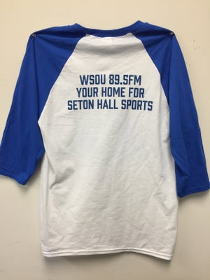 Image of WSOU Sports Baseball Tee- White