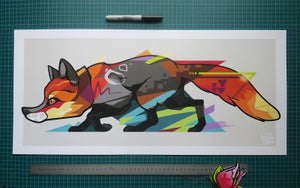 Image of FOX Art Print