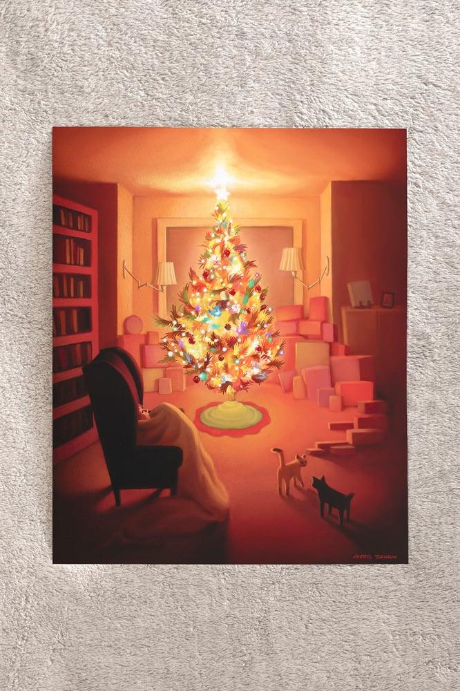 """Image of Christmas Lights 8"""" x 10"""" print"""