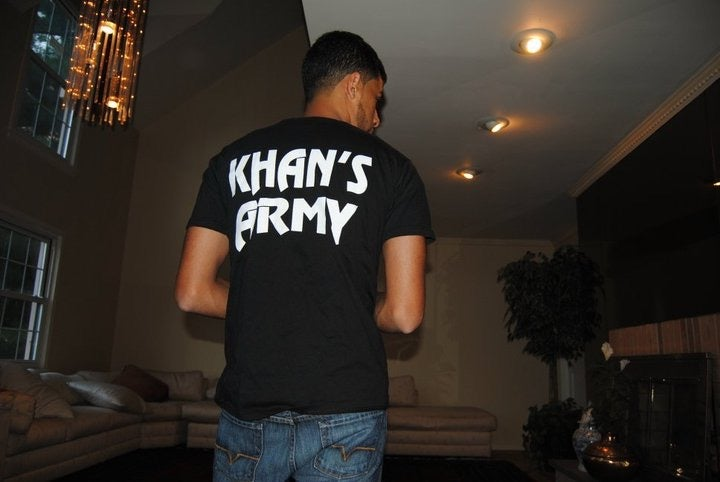 Image of Black on Gold BoxingHype Khan's Army Tees