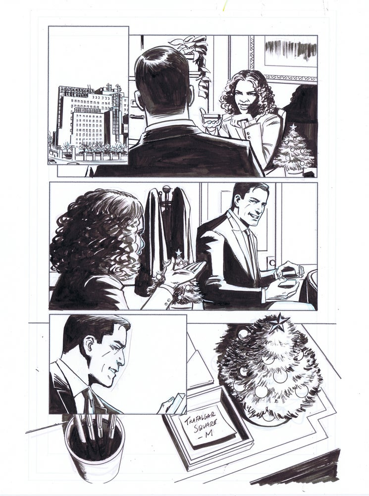 Image of JAMES BOND: SOLSTICE pg. 27