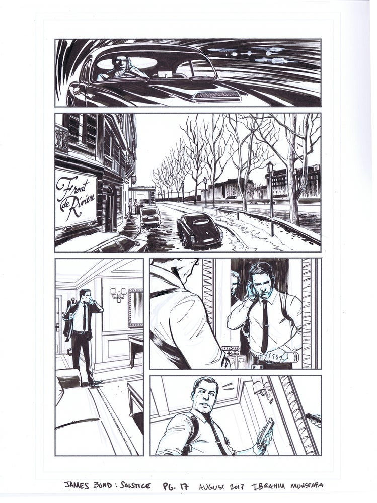 Image of JAMES BOND: SOLSTICE pg. 17