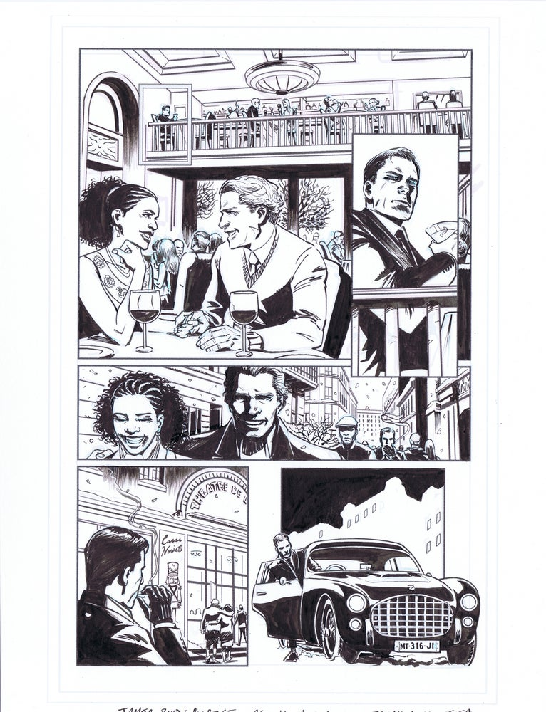 Image of JAMES BOND: SOLSTICE pg. 11
