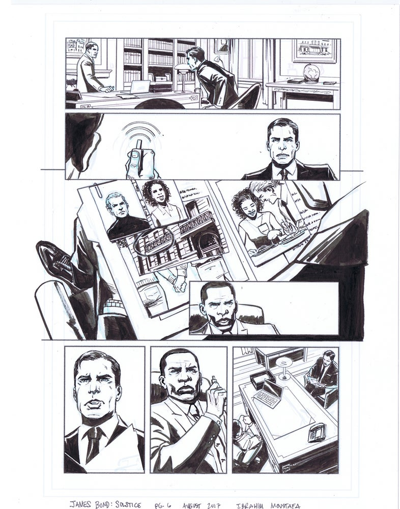 Image of JAMES BOND: SOLSTICE pg. 6
