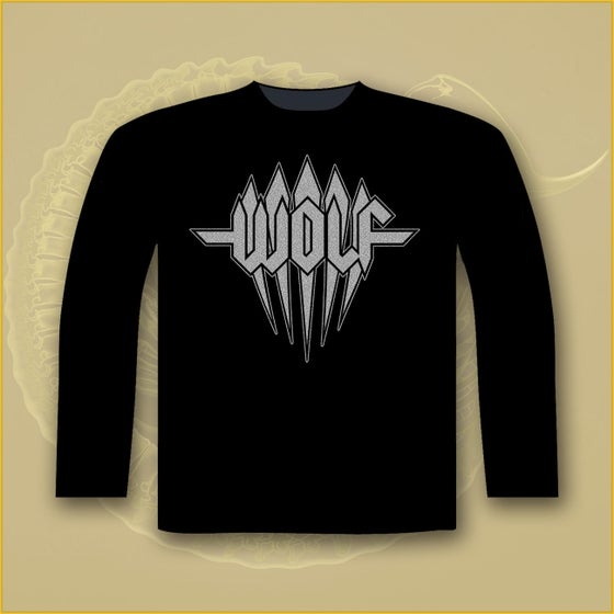 Image of Long Sleeve - Silver sparkle LOGO