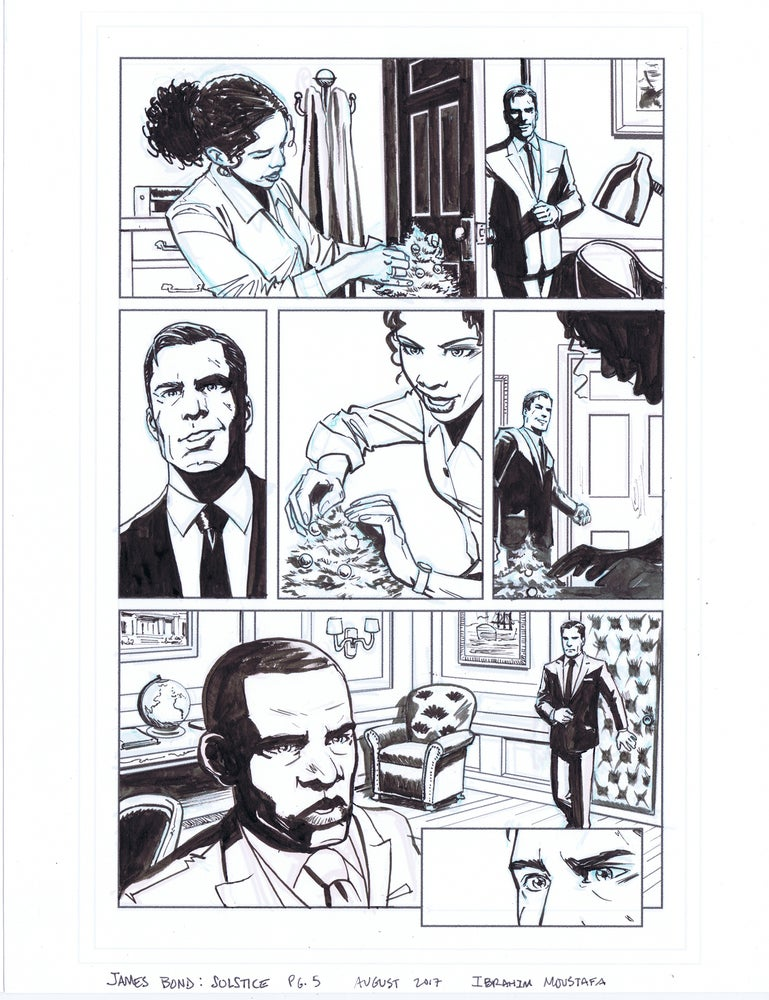 Image of JAMES BOND: SOLSTICE pg. 5