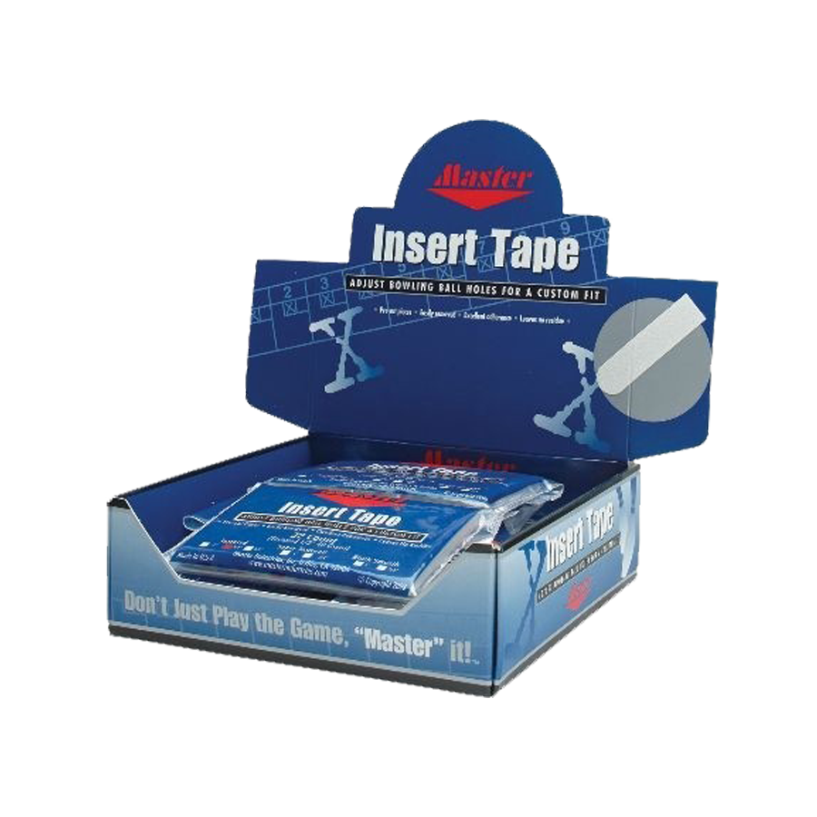 "Image of Master Insert Tape 1/2"" White"