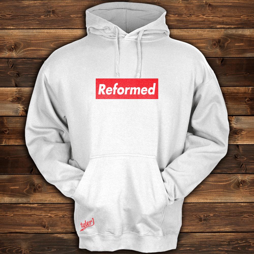 Image of Reformed White Hoodie