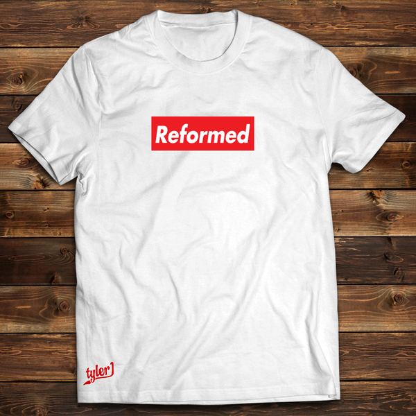 Image of Reformed White Tee