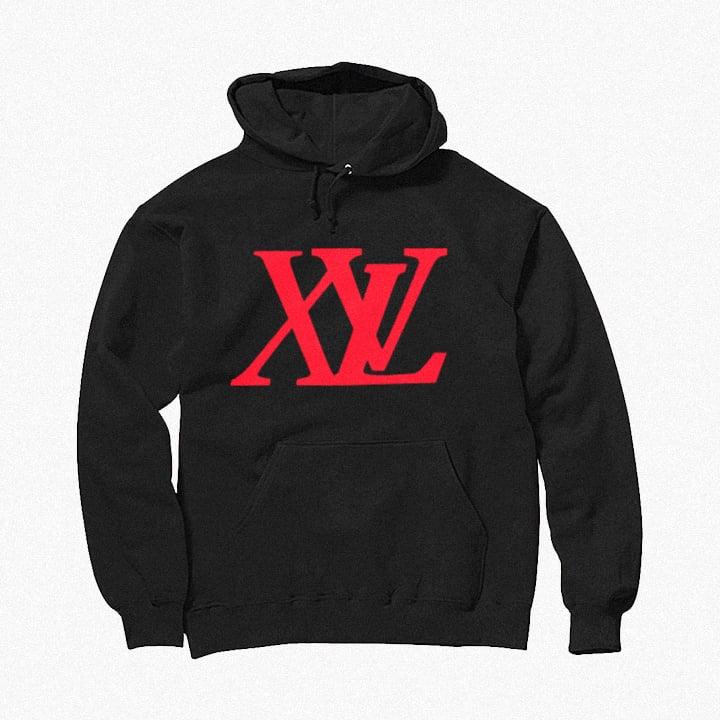 Image of XvL Hoodie (Black-Red Logo)