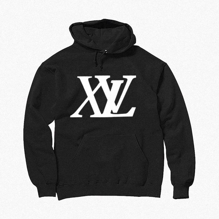 Image of XvL Hoodie (Black-White Logo)