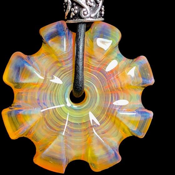 Image of MADE TO ORDER: U or V Carved Northstar Yellow CarverGem