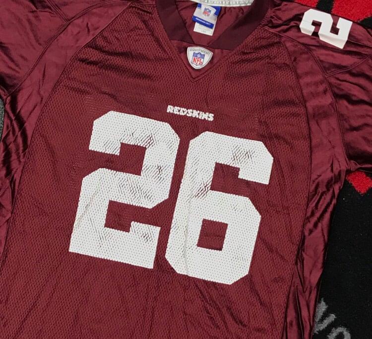 Image of Reebok x NFL Washington Redskins Clinton Portis Jersey - Size Large