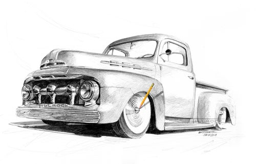 """Image of """"51 Ford Pickup"""""""